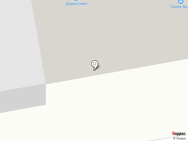 Автополка на карте Абакана