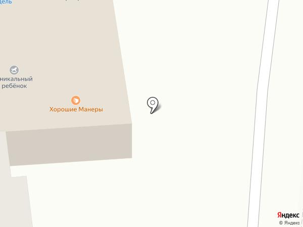 Крендель на карте Абакана
