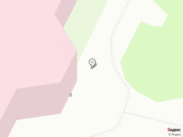 Абаканская межрайонная детская клиническая больница на карте Абакана
