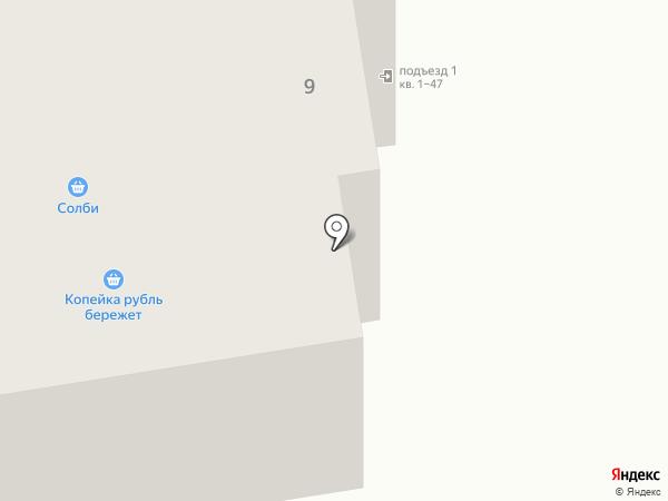 Магазин бытовой химии на карте Абакана