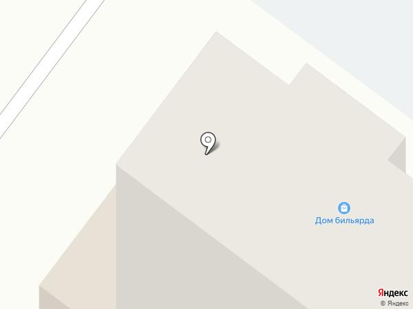 Дом бильярда на карте Абакана
