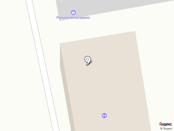 Колба на карте Абакана