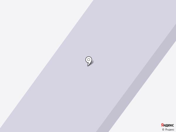 Средняя общеобразовательная школа №12 на карте Абакана