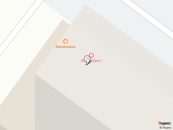 Малинники на карте Абакана