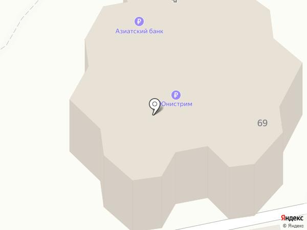 Банкомат, КБ Центрально-Азиатский на карте Абакана