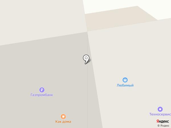 Власта-Любимый на карте Абакана