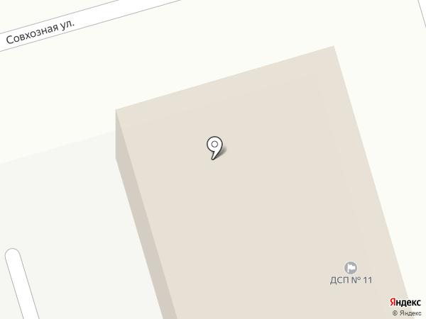 Саньда на карте Абакана