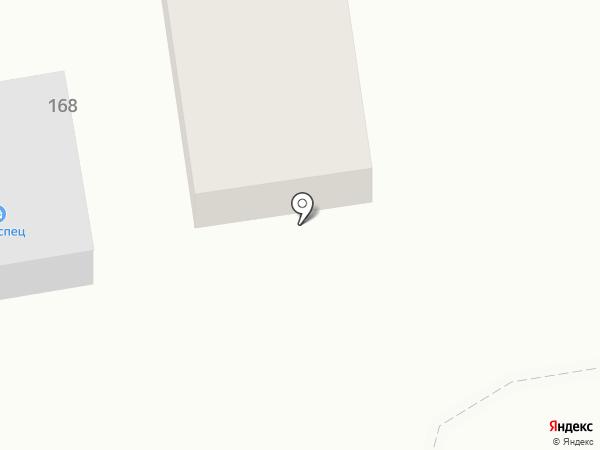 Автоспец на карте Абакана