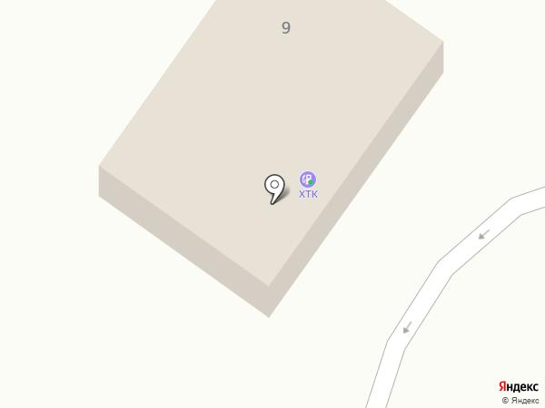 АЗС ХТК на карте Абакана