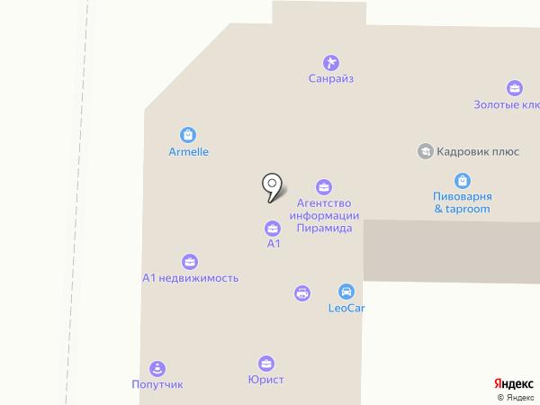 Delphi на карте Абакана