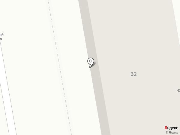 Саната на карте Абакана