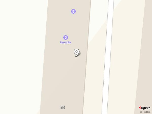 Рубель на карте Абакана