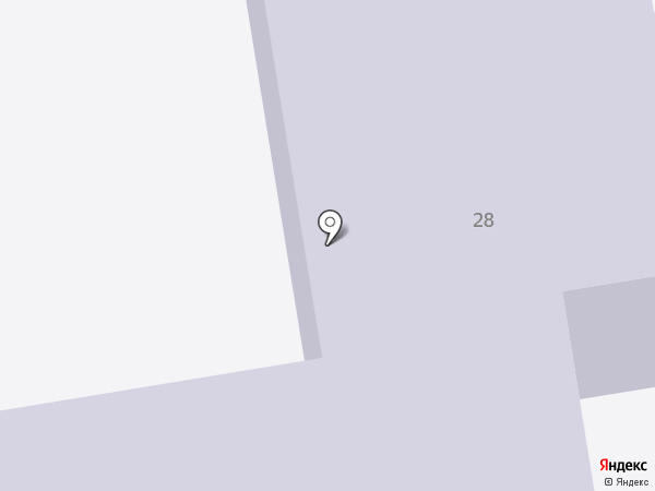 Средняя общеобразовательная школа №19 на карте Абакана