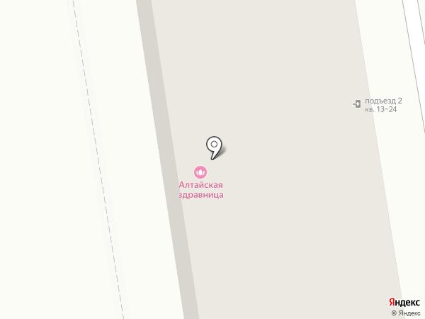 Котофей на карте Абакана