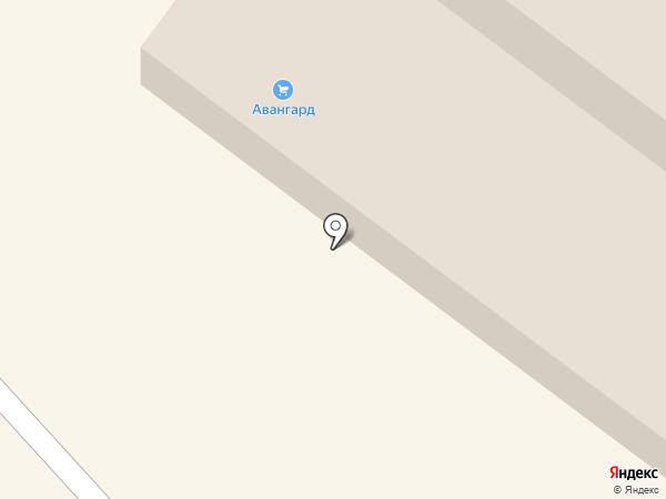 Абаканская ветеринарная лаборатория на карте Абакана