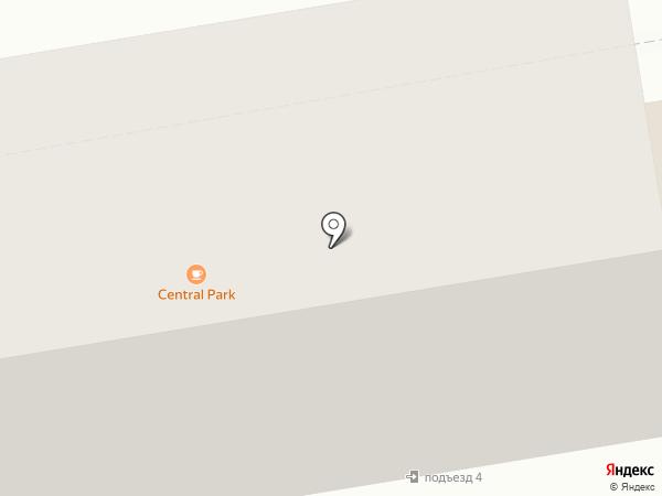 Дорожное, FM 101.3 на карте Абакана