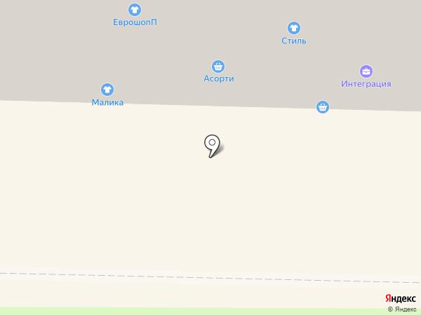 Фантазия на карте Абакана