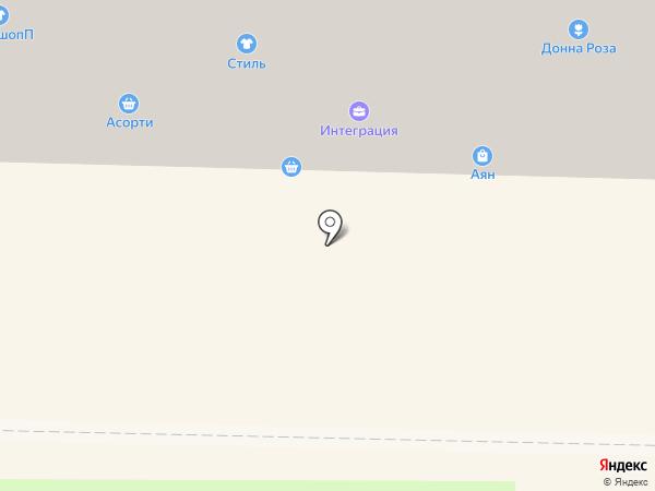Малика на карте Абакана