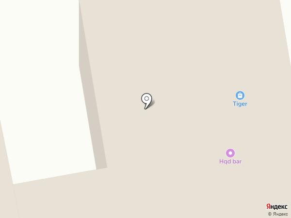 Дельта на карте Абакана