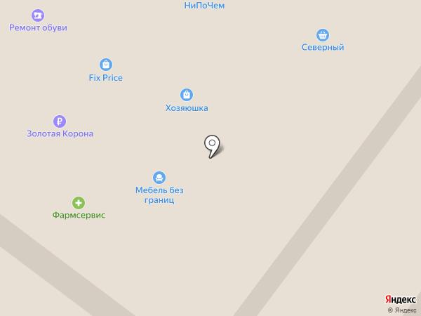 Буль-буль на карте Абакана