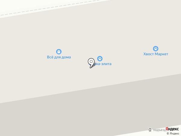 Леон на карте Абакана