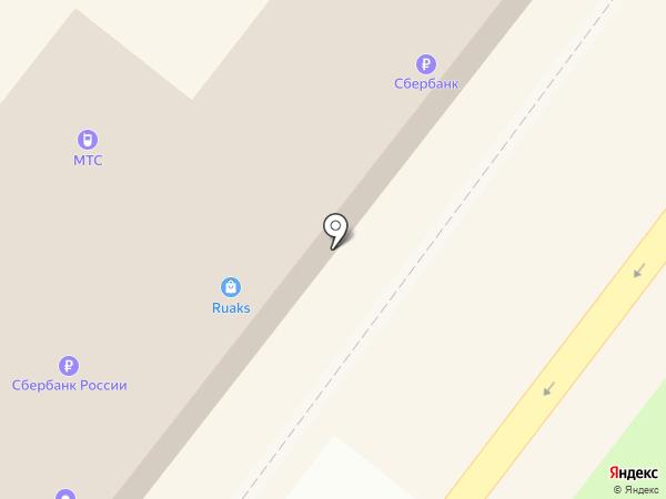 Билайн на карте Абакана