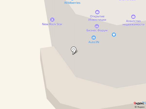 Владелита на карте Абакана