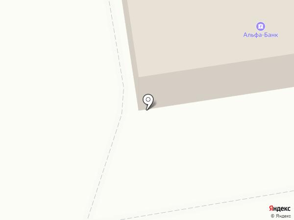 Банкомат, Альфа-банк на карте Абакана
