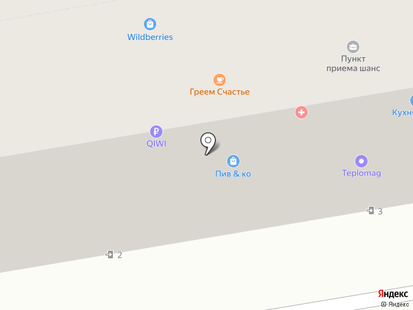 Комелена на карте Абакана
