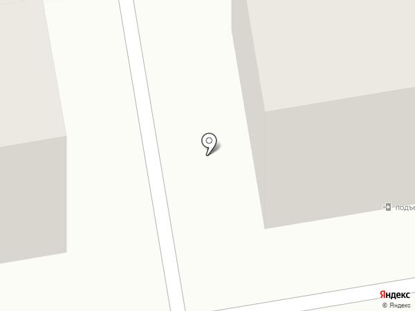 Луч на карте Абакана