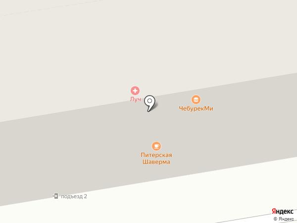 Сакура на карте Абакана