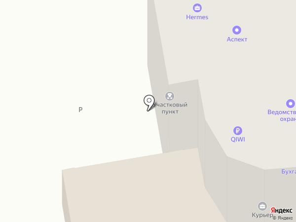 Участковый пункт полиции №4 на карте Абакана