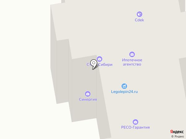 РЕСО-Гарантия на карте Абакана