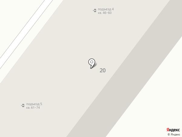 Аста на карте Абакана
