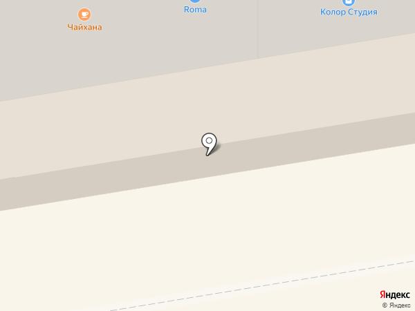 Чайхана на карте Абакана