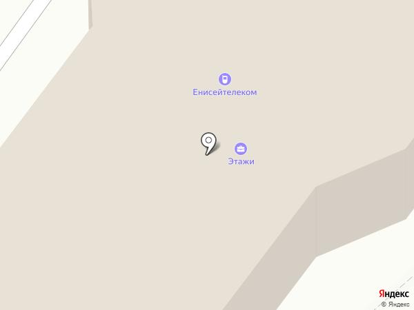 ЕТК на карте Абакана