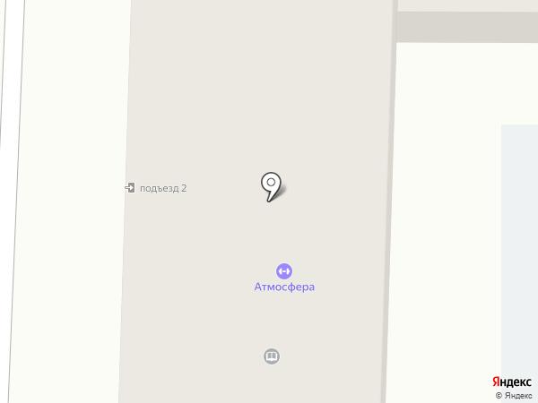 Огнеборец на карте Абакана