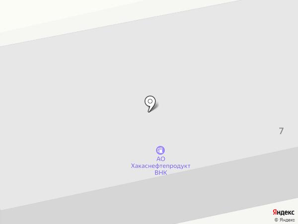 РН-КАРТ на карте Абакана