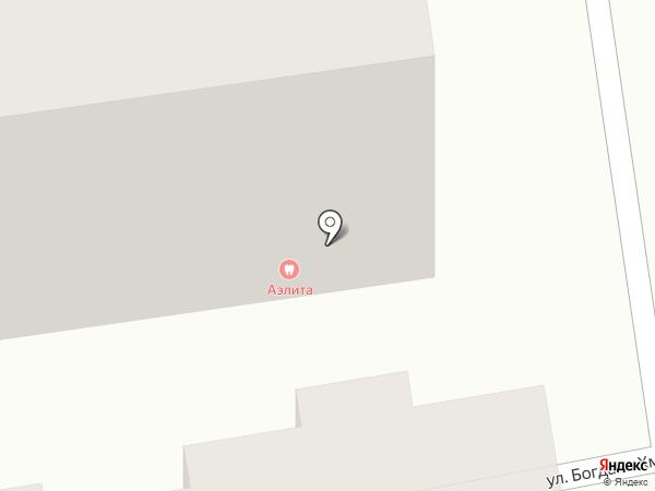 Аэлита на карте Абакана