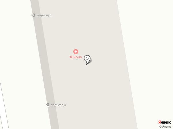 ЮНОНА на карте Абакана