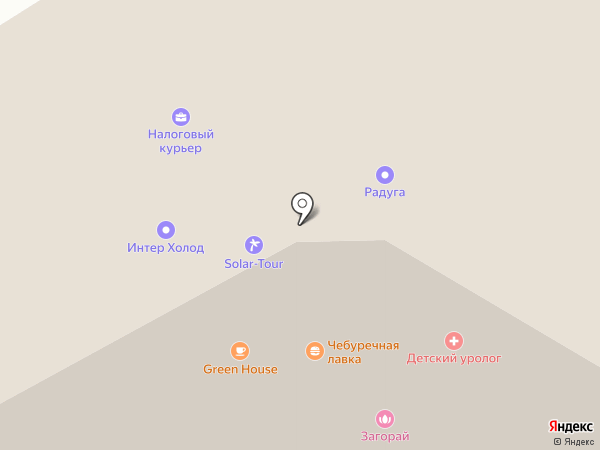 Аргентум на карте Абакана