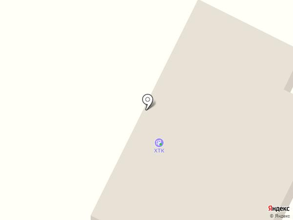 АЗС ХТК на карте Белого Яра