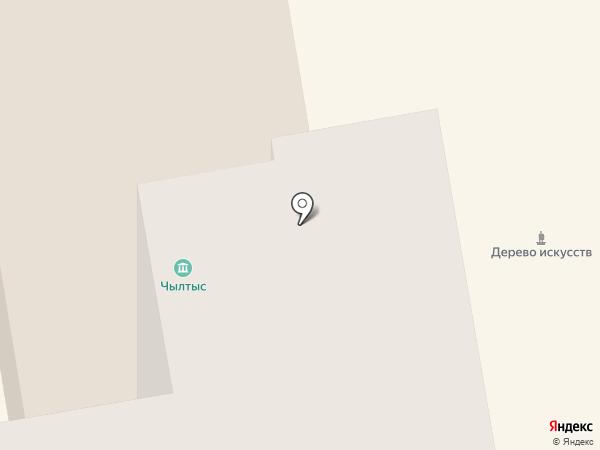 Чылтыс на карте Абакана