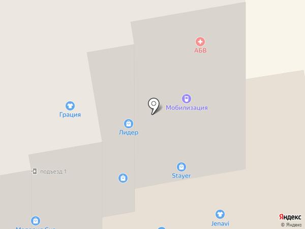 M`city на карте Абакана