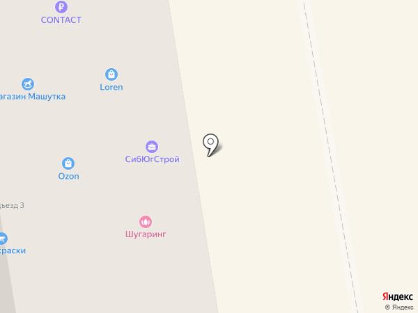 Тиара на карте Абакана