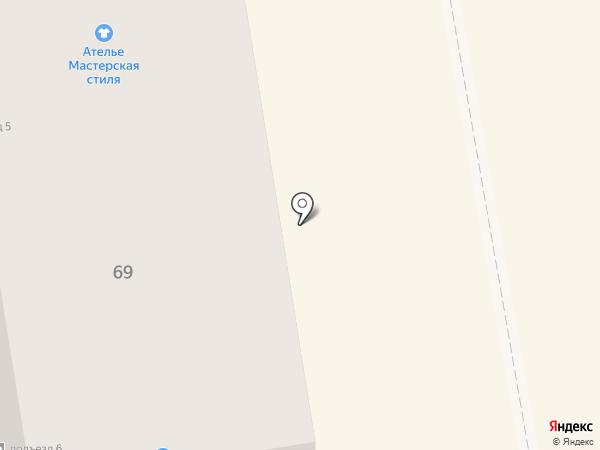 Ломбард Центр на карте Абакана