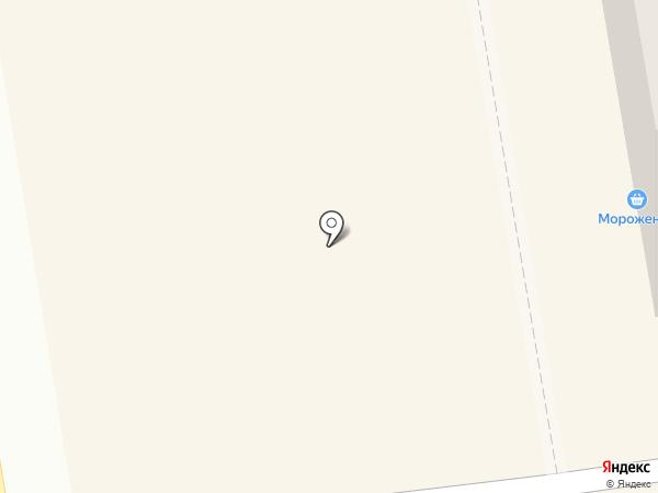 Киоск по продаже мороженого на карте Абакана