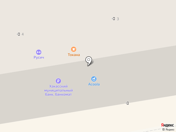 Conver на карте Абакана