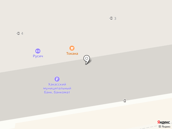Acoola на карте Абакана
