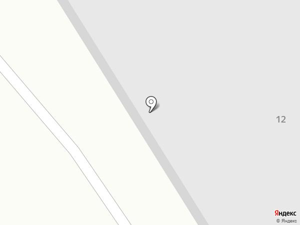 Стальград на карте Абакана